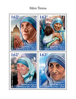 Central Africa. 2018  Mother Teresa. (710a) Small - Mother Teresa