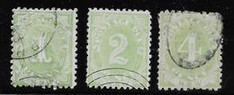 New South Wales - Nouvelles Galles Du Sud Taxe N°2/4 - Oblitéré - B/TB - Mint Stamps