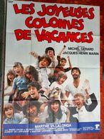 AFF CINE ORIG LES JOYEUSES COLONIES DE VACANCES (1979) 120X160 M VILLALONGA - Posters