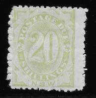New South Wales - Nouvelles Galles Du Sud Taxe N°10 - Neuf * Avec Charnière - TB - Mint Stamps