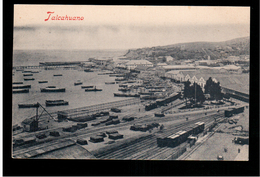 CHILE Talcahuano Ca 1910 OLD POSTCARD 2 Scans - Cile