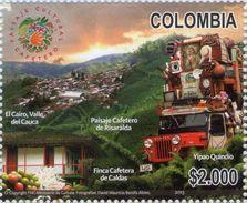 Colombia 2013 ** Paisaje Cultural Cafetero. Camion Cargado. See Desc. - Colombia