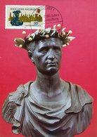 39729 Germany  Maximumj 1985 Sculpture Of  The Emperor Augustus  Roman Kaiser, - Archaeology