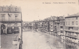 CPA Dept 81 CASTRES Vieilles Maisons Et Le Pont Vieux - Castres