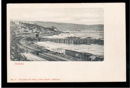 CHILE Valparaiso Portales Ca 1905 OLD POSTCARD 2 Scans - Cile