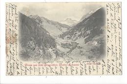 20766 - Gruss Aus Dem Binnenthal Hôtel Ofenhorn + Cachet Linéaire BINN - VS Valais