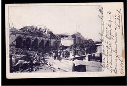 CHILE Valparaiso Teatro De La Victoria Desde La Plaza 1906 OLD POSTCARD 2 Scans - Cile