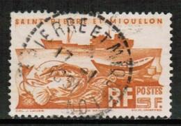 ST. PIERRE & MIQUELON  Scott # 337 VF USED (Stamp Scan # 430) - St.Pierre & Miquelon