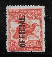 Nouvelle Zélande Service N°32 - Neuf * Avec Charnière - TB - Officials