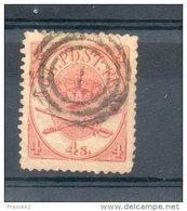 Danemark. 4sk. 2eme Choix - 1851-63 (Frederik VII)