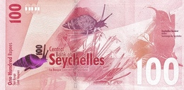 Seychelles P.50 100 Rupees 2016 Unc - Seychelles