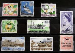 Islas Cook Aéreo 1/9 ** - Cook