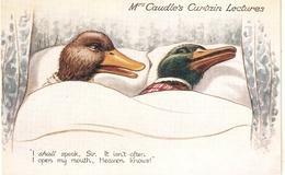 """W.H. Ellam. Mrs. Caudle's Curtain Lectures"" Tuck Oilette PC # 8683 - Tuck, Raphael"