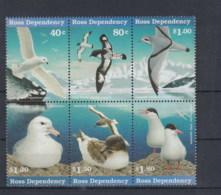 Ross Deps (BBK) Michel Cat.No. Mnh/** 44/49 Birds - Ross Dependency (New Zealand)