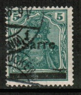SAAR  Scott # 4 VF USED (Stamp Scan # 430) - 1920-35 League Of Nations