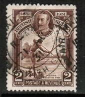 BRITISH GUIANA  Scott # 206 VF USED (Stamp Scan # 430) - British Guiana (...-1966)