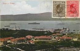 Pays Div -ref N340- Montenegro - Tivat /- Etat : Petite Coupure Propre - Tiny Clean Cut Bottom Of The Postcard  - - Montenegro