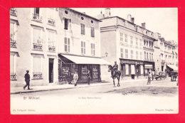 F-55-Saint Mihiel-12Ph105  St Mihiel, La Rue Notre Dame, Familistère, Librairie, Cpa BE - Saint Mihiel