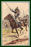 CPA Illustr. Toussaint Cuirassier 1806 Non écrite TB - Uniformen