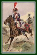 CPA Illustr. Toussaint Artillerie à Cheval 1er Régiment 1806 Non écrite TB - Uniformen