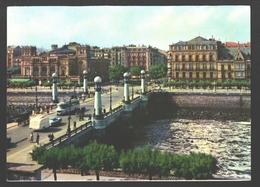 San Sebastian - Puente Del Kursaal - Vintage Bus / Autobus - Guipúzcoa (San Sebastián)