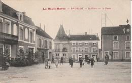 ANDELOT La Place-La Poste 1249J - Andelot Blancheville