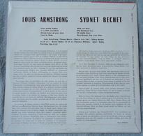 LOUIS ARMSTRONG  & SIDNEY BECHET - Panorama Du Jazz - Club Des Amateurs Du Disque - Années 1950 - Jazz
