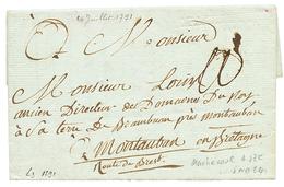 LOIRE INF. : 1791 MACHECOUL Frappe à Sec (Lenain 3). Indice 24. TB. - Poststempel (Briefe)