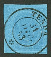 """""""TENDE"""" : SARDAIGNE 20c Obl. Cachet Sarde TENDA. Trés Rare Sur Cette émission. Superbe. - Poststempel (Briefe)"""