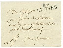 CLUSES : An 6 84 CLUSES. Superbe. - Poststempel (Briefe)