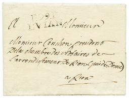 EVIAN : 1810 P.99.P EVIAN. B/TB. - Poststempel (Briefe)