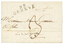 GENEVE : 1801 99 GENEVE. TTB. - Poststempel (Briefe)