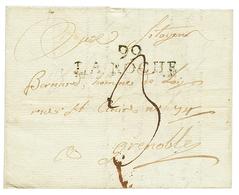 LA ROCHE : An 9 99 LA ROCHE. GRANDE RARETE. Indice 30. TB. - Poststempel (Briefe)