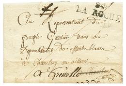 LA ROCHE : 1793 84 LA ROCHE. Ss Texte Maid Daté. TTB. - Poststempel (Briefe)