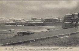 Liban Beyrouth Sous La Neige 11 Février 1920 - Libanon