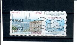 Yt 5142 90e Congres De La Federation Fancaise Des Associations Philateliques  - Cholet - France
