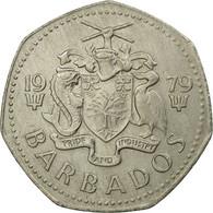 Monnaie, Barbados, Dollar, 1979, Franklin Mint, TTB, Copper-nickel, KM:14.1 - Barbados
