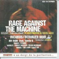 CD  BERURIER NOIR / RAGE AGAINST THE MACHINE / INCUBUS / STROKE / HAMLET / TUE-LOUP ... ETC... 12 TITRES - Music & Instruments