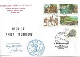 YT 755 740 618 748 661- Protection De La Nature - Escale Du Marion Dufresne à Durban - Afrique Du Sud - Afrique Du Sud (1961-...)