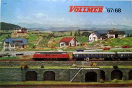VOLLMER Neuheiten 1967 1968 '67/68 Poster Flyer Prospekt DM-Preise Sammlerstück - HO Scale