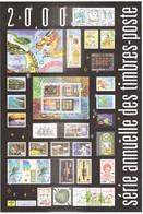 NOUVELLE CALEDONIE - ENVELOPPE SERIE ANNUELLE DES TIMBRES POSTE DE 2000 (sans Timbre) - Neukaledonien
