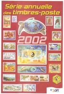 NOUVELLE CALEDONIE - ENVELOPPE SERIE ANNUELLE DES TIMBRES POSTE DE 2002 (sans Timbre) - Neukaledonien