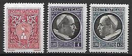 VATICAN     -   1940 .    Y&T N° 90 & 92 *. - Neufs
