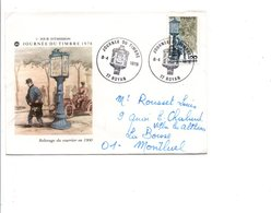 FDC 1978 JOURNEE DU TIMBRE - ROYAN - FDC