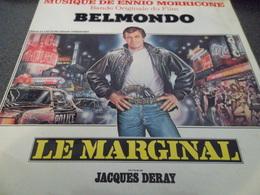 VINYLE 45 T BANDE ORIGINALE DU FILM LE MARGINAL - Soundtracks, Film Music