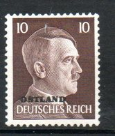 RUSSIE Hitler 1941-43 N° 26a - 1941-43 Occupation: Germany