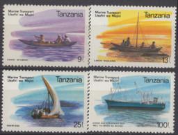 TANZANIE - Bateaux 1990 - Tanzania (1964-...)