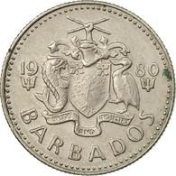 Monnaie, Barbados, 10 Cents, 1980, Franklin Mint, TTB, Copper-nickel, KM:12 - Barbades