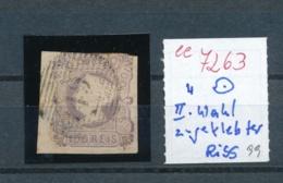 Portugal Nr.  4 II.Wahl  O      (ee7263  ) Siehe Scan - 1853 : D.Maria