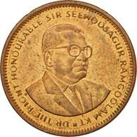 Monnaie, Mauritius, 5 Cents, 1999, TTB, Copper Plated Steel, KM:52 - Maurice